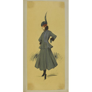 Fashion design - Hiver 1915-16