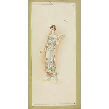 Fashion design - Hiver, 1923-24
