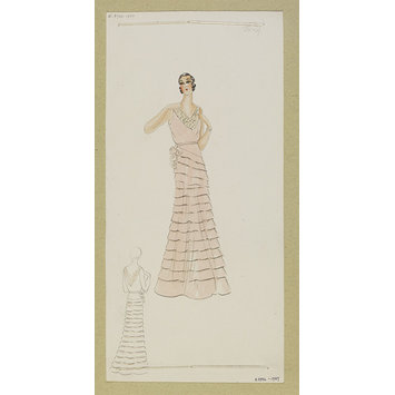 Fashion design - Hiver 1931