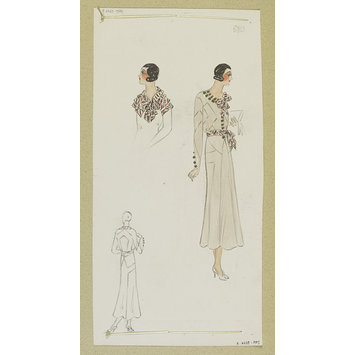 Fashion design - Été 1933