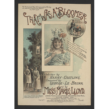 Sheet music - That Was A Bloomer