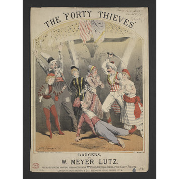 Print - The Forty Thieves
