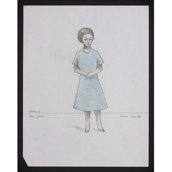 Costume design - Othello - The Doge (Anne White)