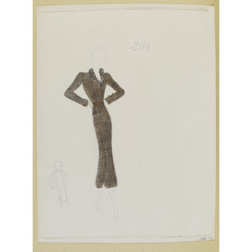 Fashion design - Hiver 1937-38