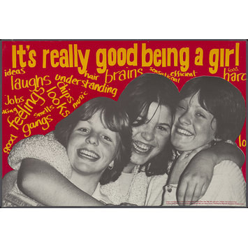 Poster - It's really good being a girl
