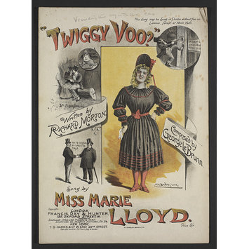 Sheet music - Twiggy Voo