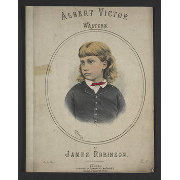Sheet music - Albert Victor Polka