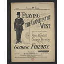 Playing the Game in the West (Sheet Music)