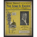 The Song is Ended (but the Melody Lingers On) (Sheet Music)