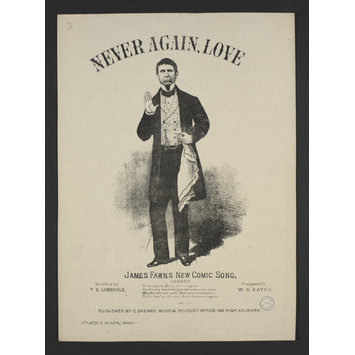 Sheet Music - Never Again, Love