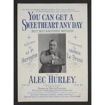 Sheet Music - You Can Get A Sweetheart Any Day