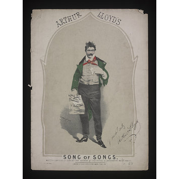 Sheet Music - Song of Songs