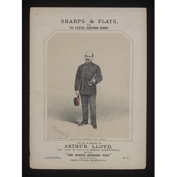 Sheet Music - Sharps and Flats or My Leetle German Band