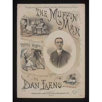 Sheet music - The Muffin Man