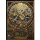 The Ascension and the Incredulity of St Thomas (sketch for the decoration of the chapel at Chatsworth) (Oil painting)