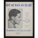 Give Me Back My Heart (Sheet Music)