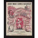 Doi' What Comes Natur'lly (Sheet Music)