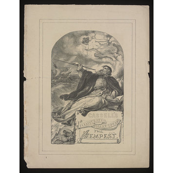 Print - Cassell's Illustrated Shakespeare/The Tempest