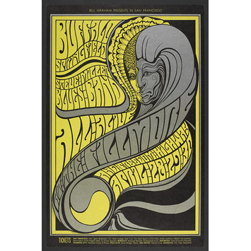 Poster - Bill Graham Presents