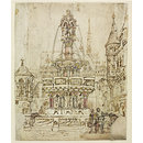 Sketch for a Fountain for the City of Gloucester (Drawing)