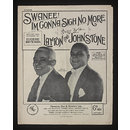 Swanee! I'm Not Gonna Sigh No More (Sheet Music)