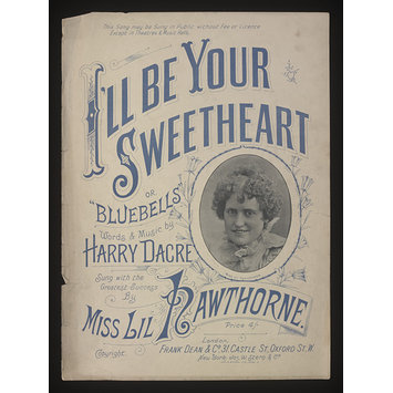 Sheet Music - I'll Be Your Sweetheart