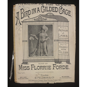 Sheet Music - A Bird In A Gilded Cage