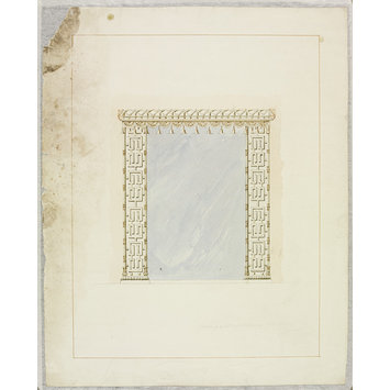Drawing - Designs for mirror frames