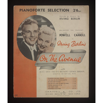 Sheet Music - On the Avenue
