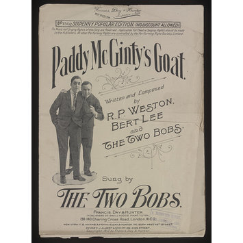 Sheet Music - Paddy McGinty's Goat