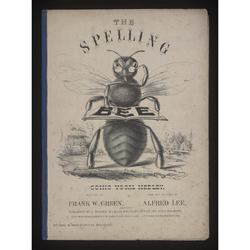 Sheet Music - The Spelling Bee