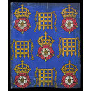Wallpaper design for the Houses of Parliament (Design drawing)