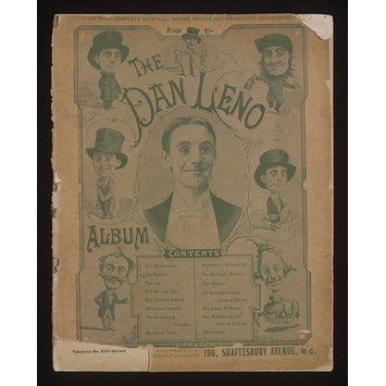 Sheet Music - The Dan Leno Album