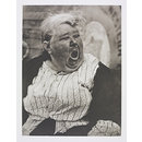 Yawning Woman, New York (Photograph)