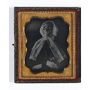 Elderly woman deceased (Daguerreotype)