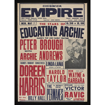 Poster - Educating Archie