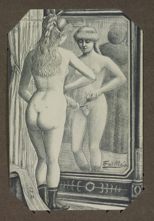 History of erotic postcards