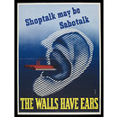 Shoptalk may be Sabotalk (Poster)