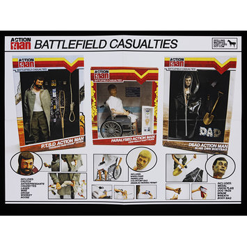 Action Man Battle Field Casualties