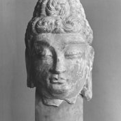 Figure of Buddha's head