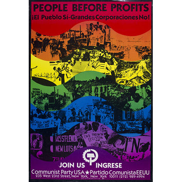 Poster - People Before Profits