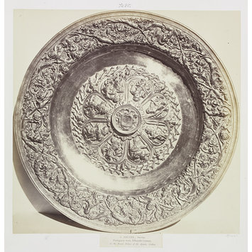 Photograph - Silver-gilt Salver, Royal Palace of Ajuda, Lisbon