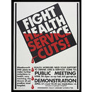 Fight Health Service Cuts (Print)
