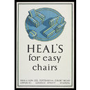 Heal's for easy chairs (Poster)