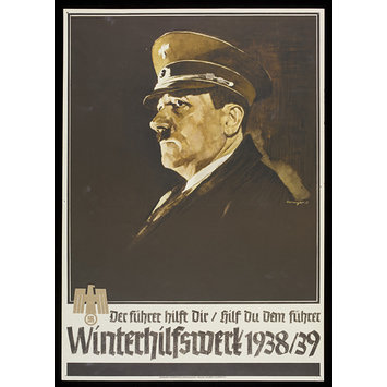 Poster - The Führer helps you - so help the Führer