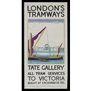 London Tramways, Tate Gallery (Poster)