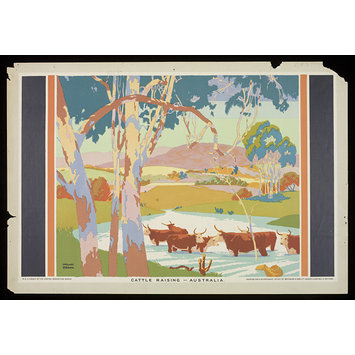 Poster - Cattle Raising - Australia