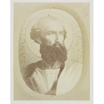 Photograph - Portrait of St. Mark in Sevres enamel