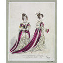 The Peeresses' robes, to be worn at the Coronation of their Majesties. (Fashion plate)
