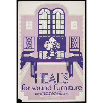 Poster - Heal's For Sound Furniture